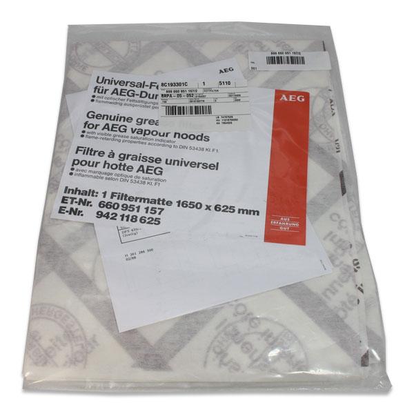 Fettfilter schmal AEG/Electrolux
