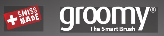 groomy® The Smart Brush