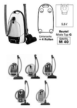 miele staubsaugerbeutel und filter. Black Bedroom Furniture Sets. Home Design Ideas